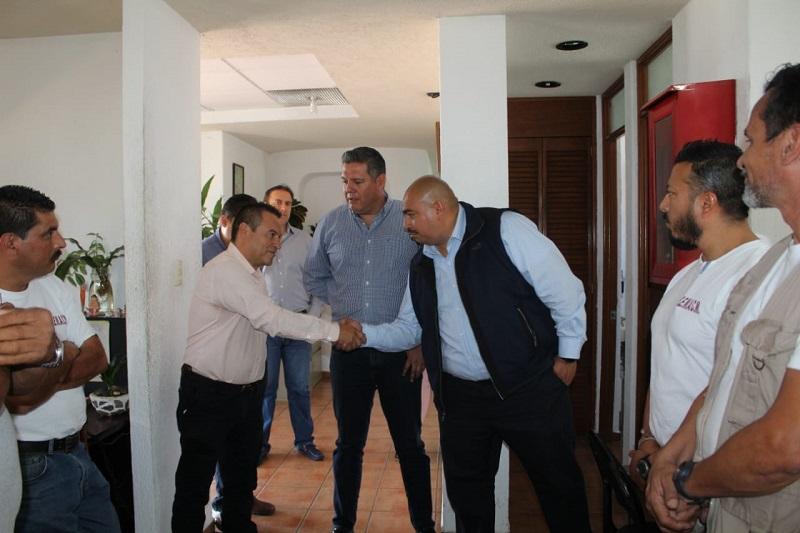 Ramón Baltierra, invitó a Alejandro Carrillo a conducirse con responsabilidad en el cargo y articular estrategias que respondan de forma inmediata a las necesidades que se presenten en la capital