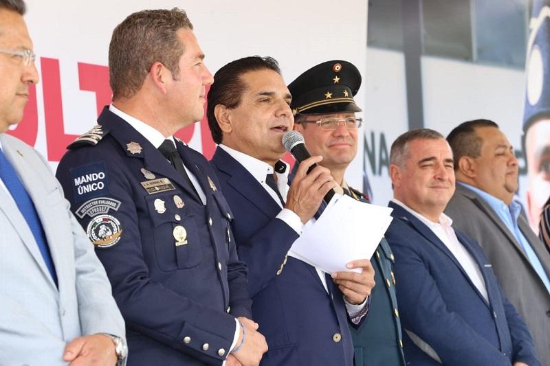 Aureoles Conejo inauguró la restauración del Auditorio de Usos Múltiples del IEESSPP, que tuvo una inversión de más de 600 mil peso
