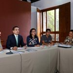 El gobernador de Michoacán se reunió con la titular de la Cecufid, Jessica Alejandra Moreno Carrillo