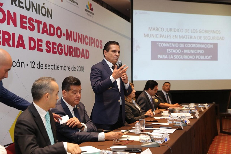 Alcaldes de las diferentes fuerzas políticas y el Concejo Mayor de Cherán, coinciden en impulsar un convenio de coordinación y colaboración