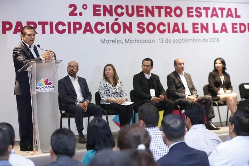 Reconoce Mexicanos Primero gobernanza en el sector educativo en gestión de Silvano Aureoles