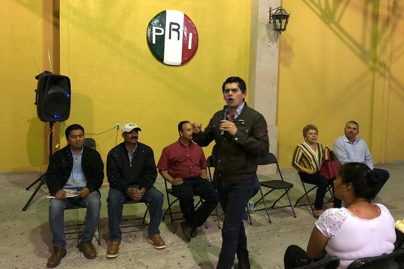 ¡No a los pleitos ni a las divisiones!, nuestro partido necesita un nuevo pacto político: Antonio Ixtláhuac