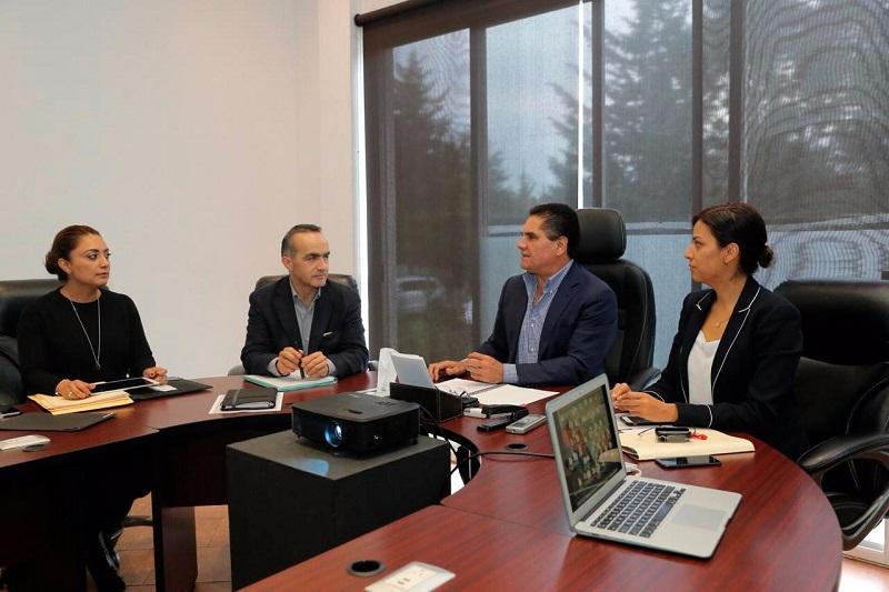 El titular del Ejecutivo Estatal revisó el cumplimiento de los objetivos en base a los ejes centrales de su administración, así como el mensaje que habrá de emitir al pueblo michoacano en los próximos días