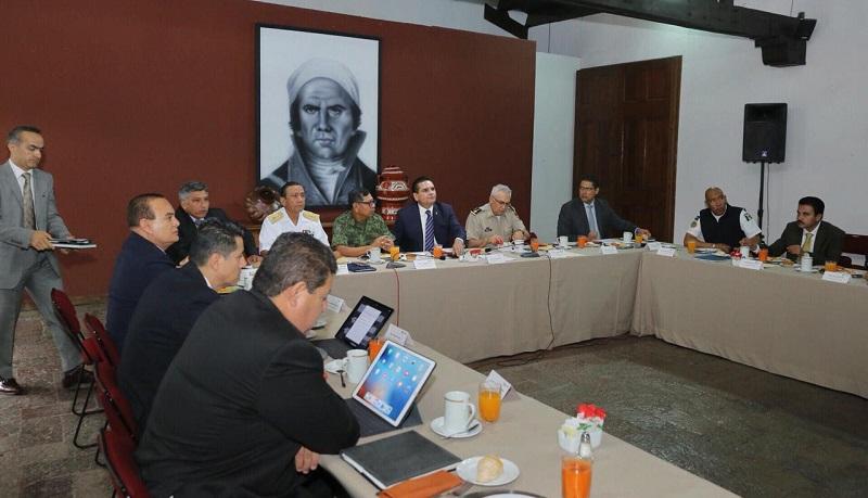 Preside el gobernador reunión del GCM, donde también destacaron la efectividad del operativo Blindaje Siglo XXI