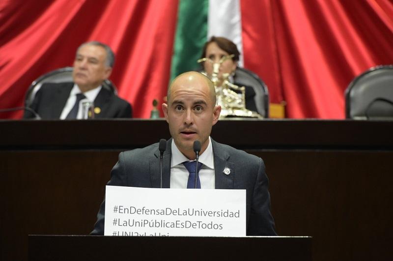 El próximo gobierno federal debe contemplar los recursos económicos que requieren las Universidades Públicas en el presupuesto del 2019: Torres Ramírez