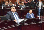 Arturo Hernández, quien señaló que el albiazul tiene como prioridad velar por el bien de la entidad, evitar endeudamientos injustificados, así como la representación justa de las voces de los legisladores de Acción Nacional en el Congreso local