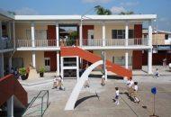 """Autoridades educativas visitaron las escuelas """"Melchor Ocampo"""" y """"José Vasconcelos"""" en Lázaro Cárdenas"""