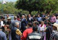 En punto de las 13 horas con 16 minutos, se activó la alerta sísmica en Casa de Gobierno