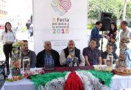 La Feria tendrá lugar en el citado Mercado de Dulces y Artesanías y la Biblioteca Pública; arrancará este próximo 21 de septiembre y concluirá el día 23 del mismo mes