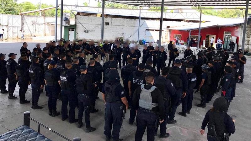 Desde este jueves, se incrementó el estado de fuerza y la operatividad en esas demarcaciones, con especial atención a la localidad de Antúnez