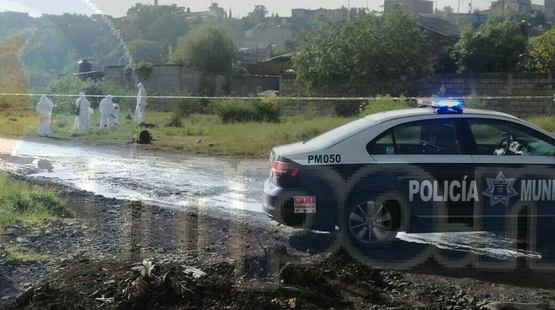 Al lugar arribaron elementos de la Policía de Morelia, los cuales confirmaron la información y acordonaron el lugar para dar de conocimiento a la Procuraduría General de Justicia del Estado