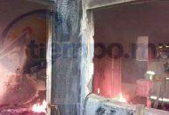 Minutos después arribaron bomberos de Protección Civil Tarímbaro, quienes localizaron en el interior del domicilio una gran cantidad de basura en un cuarto de 4x4 y otro de 2x2