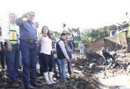 Silvano Aureoles instó a que se realice el censo total de las afectaciones, a fin de apoyar a cada familia con lo necesario: muebles, apoyos crediticios, víveres, uniformes, calzado, entre otros
