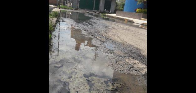 Apenas en marzo pasado, trabajadores del OOAPAS acudieron al lugar, pero sólo a revisar la situación, y no volvieron a regresar