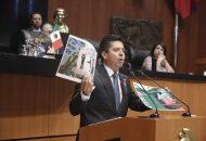 Al hacer uso de la palabra en la tribuna, Toño García, manifestó que se prevengan y sancionen los delitos cometidos en materia de hidrocarburos