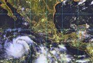 Dadas estas condiciones, se refuerza el potencial de tormentas fuertes a puntuales muy fuertes, en la región costa, no obstante, las condiciones lluviosas imperarán en el resto del estado