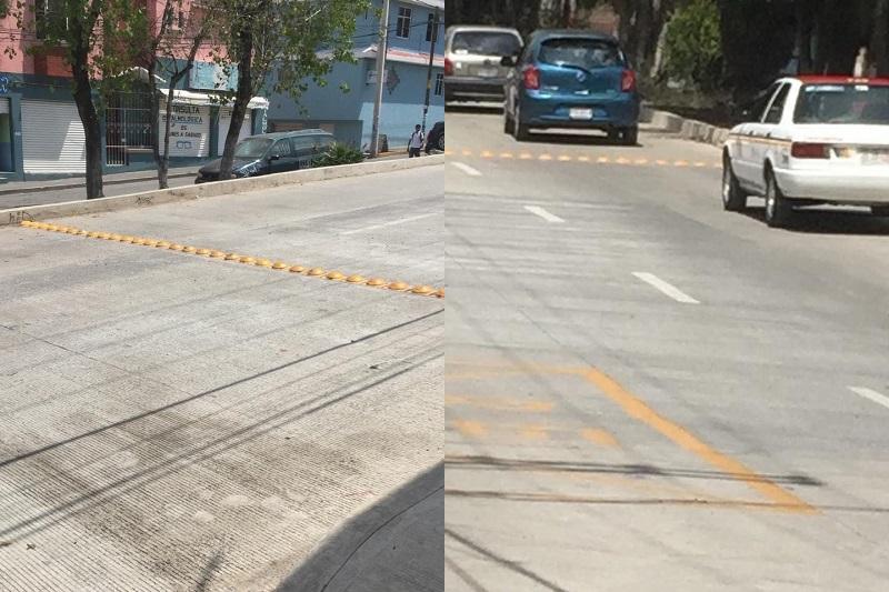 Aunque los automovilistas ya pueden transitar por la zona, la recomendación de la autoridad municipal es que lo hagan con precaución, debido a que aún hay presencia de hombres y maquinaria trabajando en el lugar