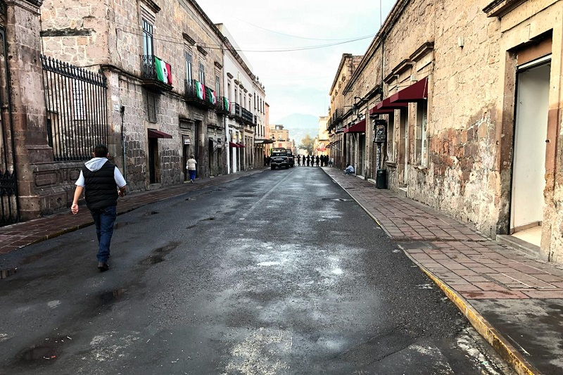 Cabe mencionar que desde primera hora se han registrado complicaciones viales en el primer cuadro de la ciudad, con motivo de estas acciones de seguridad