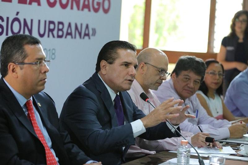 Aureoles Conejo da la bienvenida a representantes de los 16 estados de la República que se dieron cita a este encuentro