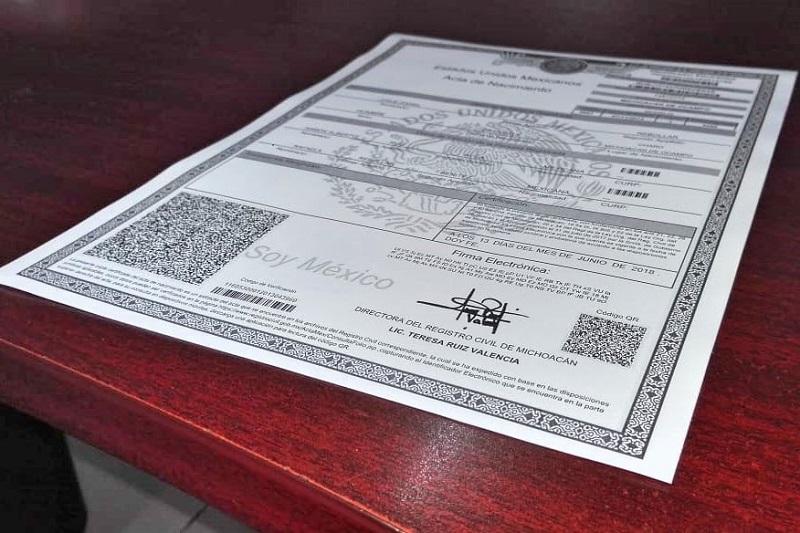 La aclaración, ante la proliferación de anuncios en los que se ofrece la impresión de los documentos con un cobro de 200 pesos