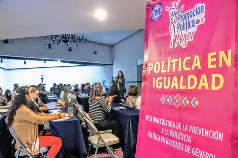 PAN Michoacán reúne a mujeres por una política de igualdad