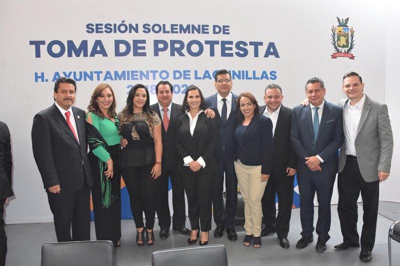 También estuvo presente, José Luis López Salgado, titular de la Auditoría Superior de Michoacán