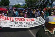 La marcha iniciará en la Plaza Morelos sobre la Avenida Acueducto, en su cruce con la Avenida Tata Vasco, para dirigirse hacia Las Tarascas y tomar la Avenida Madero que los llevará a Palacio de Gobierno