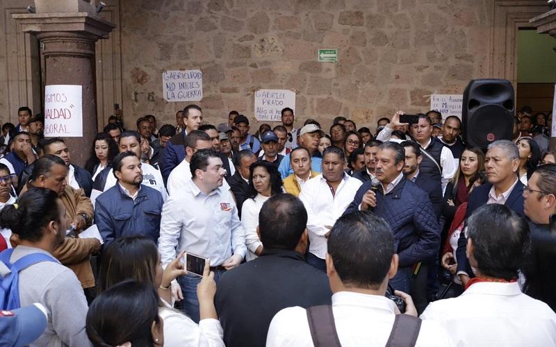 Morón Orozco reconoció que se hace una revisión en la nómina de la Administración Municipal y que parte de esa labor será reintegrar los beneficios adquiridos a los empleados con la antigüedad necesaria