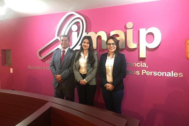 """La Comisionada Presidenta declaró: """"Reitero mi compromiso con los Michoacanos, con este Instituto, que se ha vuelto mi segunda casa, y con este Pleno que en armonía y trabajo en equipo ha tomado acuerdos que materializan cada uno de los objetivos por los que fue creado el IMAIP"""""""