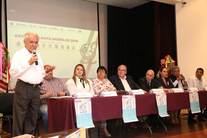En rueda de prensa, autoridades estatales y municipales dieron a conocer el programa de actividades a realizar del 20 al 25 de octubre