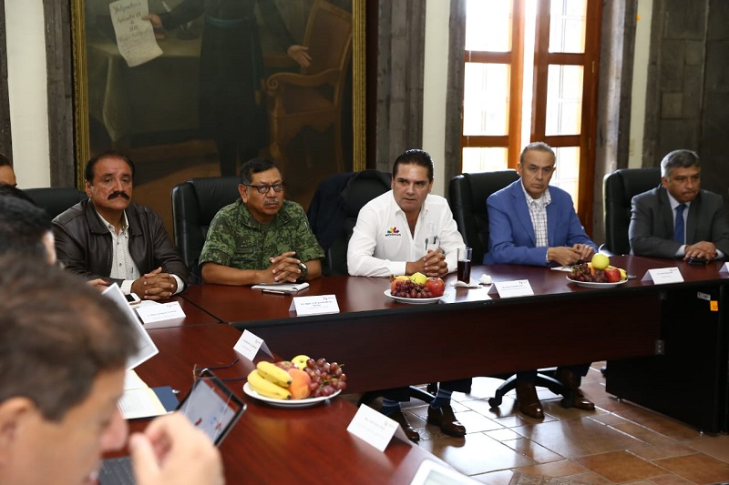 El Grupo de Coordinación Michoacán se reúne en Zamora para atender las necesidades de seguridad en este municipio