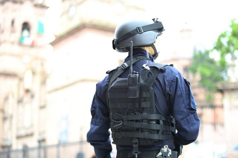 La Policía Michoacán se muestra respetuosa de la libre manifestación y refrenda su compromiso por garantizar el Estado de Derecho y la paz social