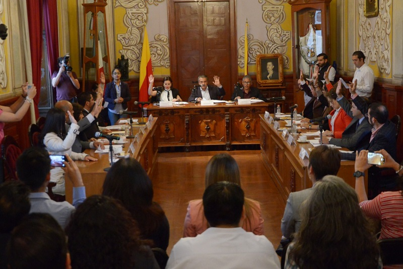 Se presentó y aprobó el proyecto de acuerdo mediante el cual se aprueba la lista de los Regidores que habrán de integrar el Consejo Directivo del Instituto Municipal de Planeación de Morelia