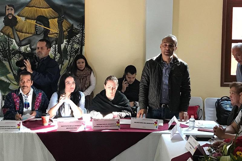 José Luis Gutiérrez se congratuló por la estructura de gobierno del Concejo, en la que se incluyó una comisión de jóvenes y otra de mujeres, e invitó a hacer una reflexión de cómo tener una atención más fortalecida a los derechos de los migrantes