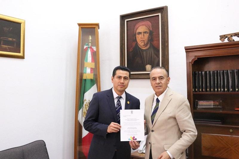 Sigala Páez conminó a los nuevos titulares de las áreas a redoblar los trabajos en cada una de las áreas y con ello poder brindar los resultados que las y los michoacanos demandan