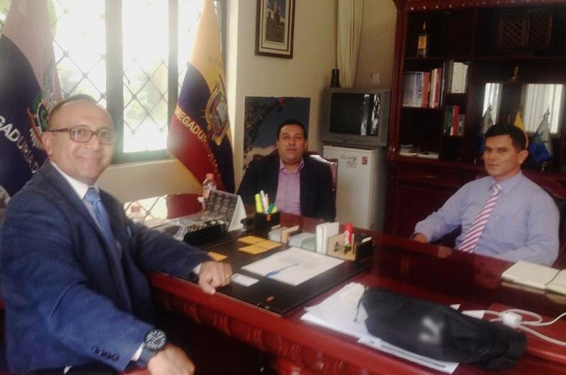 La instrucción del titular de la dependencia, Juan Bernardo Corona, ha sido la de forjar y fortalecer lazos con instituciones internacionales en la materia