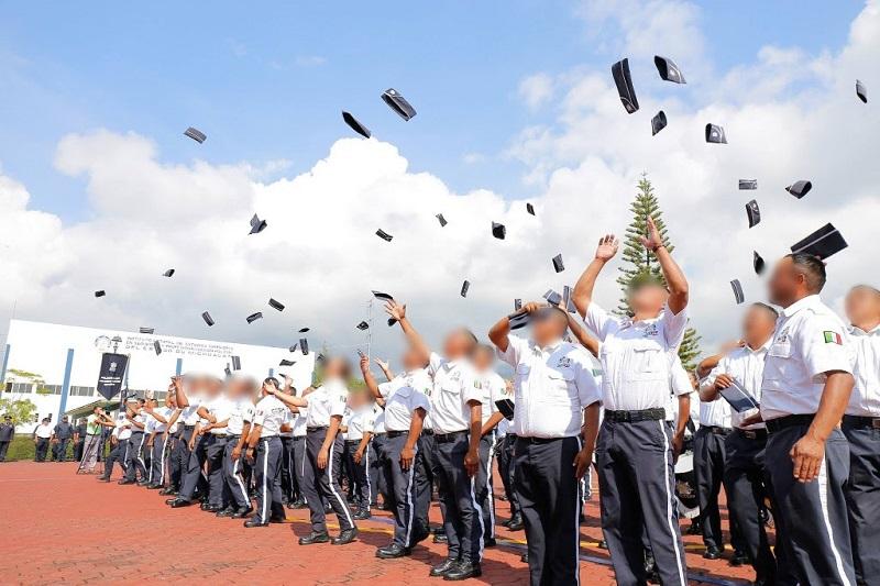 65 hombres y 31 mujeres, concluyeron satisfactoriamente el Curso de Formación Inicial