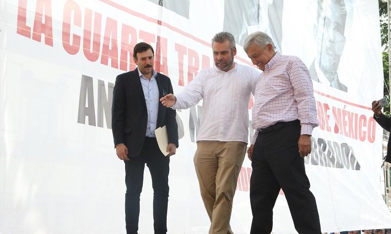 Alfredo Ramírez afirmó que el interés del presidente electo en la educación superior es una buena señal para continuar con las gestiones dirigidas al fortalecimiento de la Universidad Michoacana