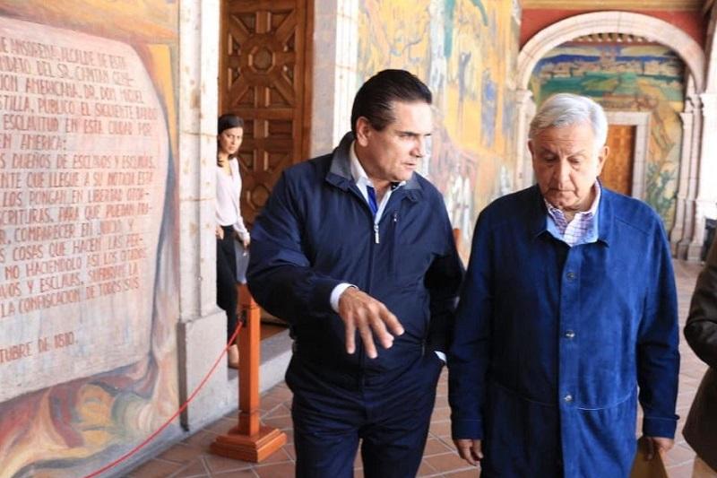 Aureoles Conejo y el próximo presidente de México encabezan encuentro con representantes de sectores de la sociedad civil