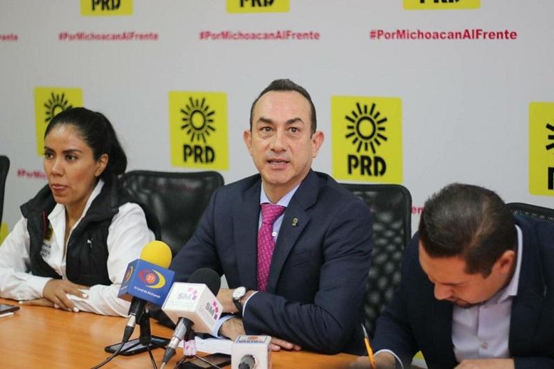 Soto Sánchez reconoció la voluntad de López Obrador para trabajar en conjunto con el gobernador de Michoacán, Silvano Aureoles, en una muestra de madurez política