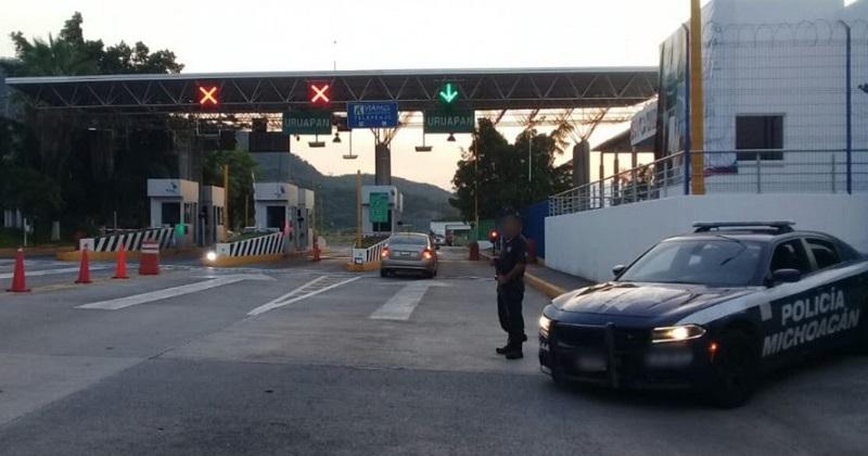Elementos de la Policía Michoacán y de fuerzas federales llevan a cabo patrullajes permanentes en puntos estratégicos