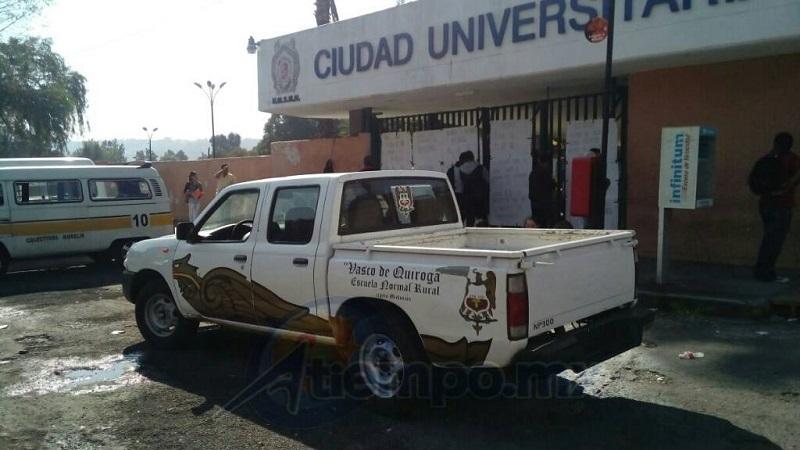 Si los consejeros universitarios se echan para atrás estarán sentando un precedente nefasto en la institución y confirmarán la sumisión de la Universidad Michoacana a los intereses de un partido político: El Morena