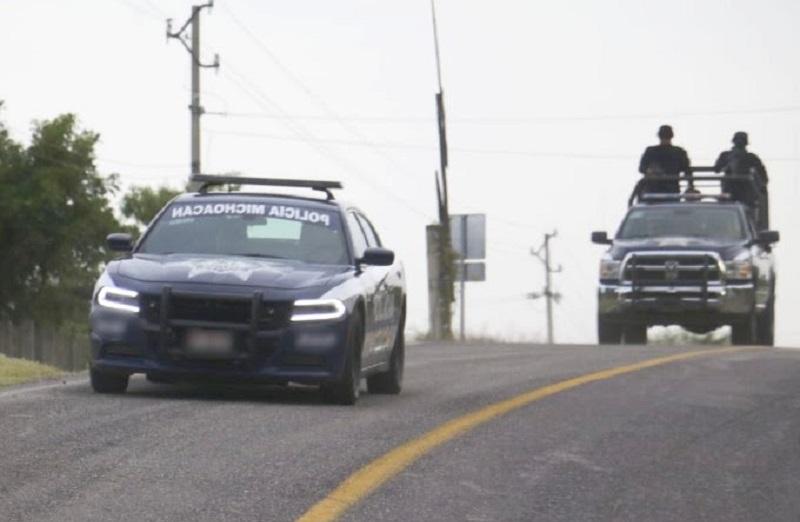 Refuerza SSP despliegue operativo en Zacapu