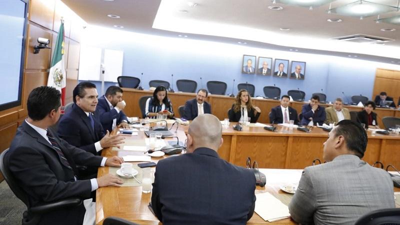 Aureoles Conejo puso sobre la mesa los rubros que necesitan de mayor apoyo presupuestal de parte de la Federación, para salir de complicaciones financieras y poder dar respuesta a las necesidades de la ciudadanía
