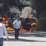 De acuerdo con los primeros reportes, los manifestantes son principalmente comuneros indígenas de Santa Fe de la Laguna