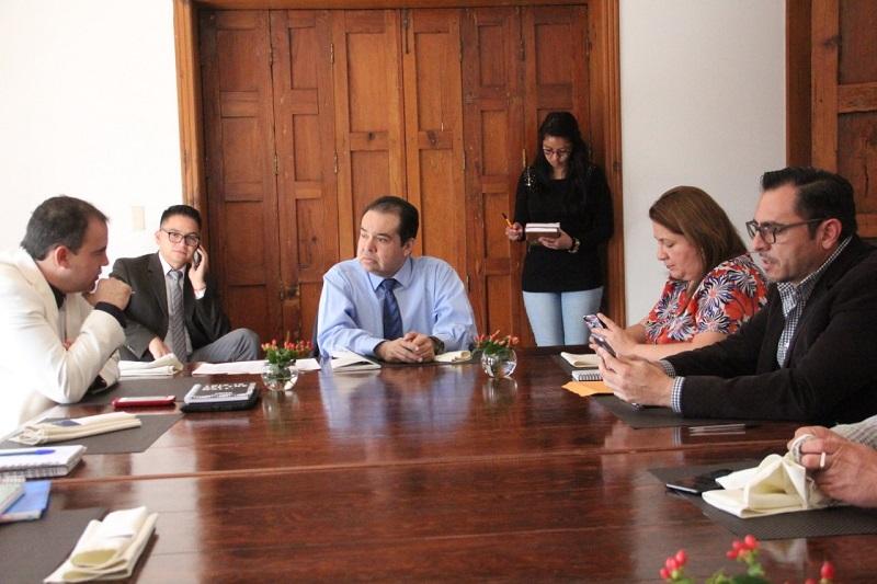 Norberto Martínez expuso la propuesta del plan de trabajo del primer año legislativo, misma que será fortalecida con las voces de todos los diputados que conforman la misma
