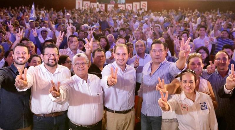 Debemos salir unidos para ser la oposición que México demanda en el actual contexto político: Marko Cortés