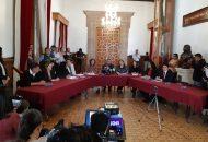 La fracción parlamentaria de Morena presentará a la Conferencia para la Programación de los Trabajos Legislativos su Agenda de trabajo prioritario para los tres años de ejercicio legislativo, cuyos principales ejes fueron dados a conocer a los medios de comunicación