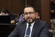 Humberto González destacó además la acción solidaria promovida desde la bancada del PRD en apoyo de las y los michoacanos afectados en Peribán tras desbordarse el Río Cutio