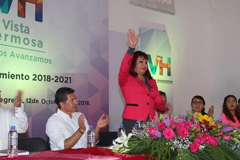 La edil sostuvo que mejorar la situación de los productores y desarrollar sus potencialidades, son metas ineludibles para mejorar su competitividad